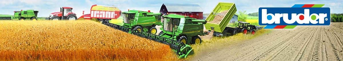 Jucarii combine agricole Bruder