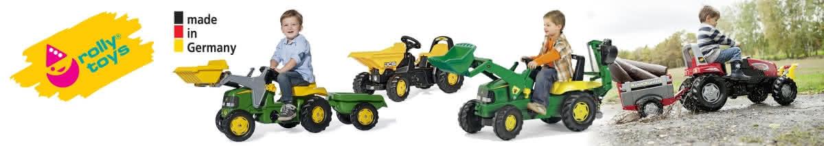 Tractoare cu pedale Rolly Toys