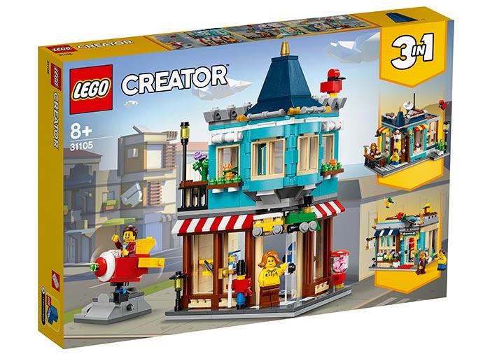 LEGO Creator, Magazin de jucarii, 31105