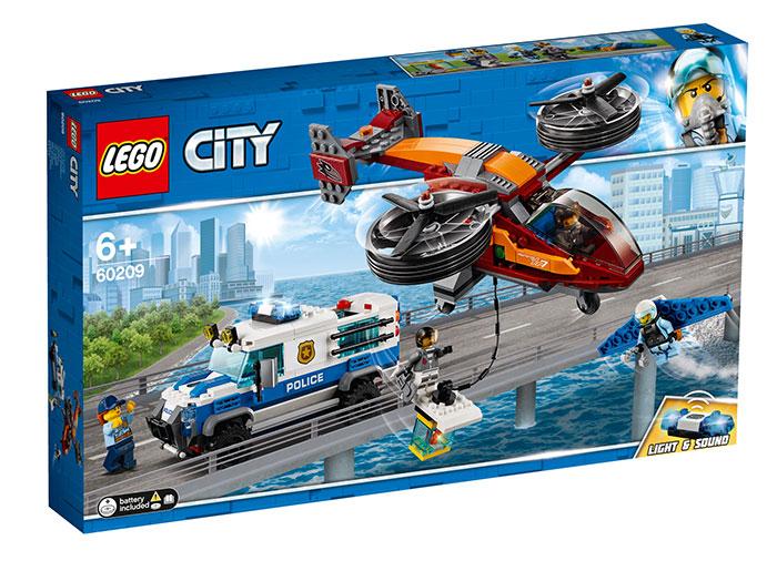 LEGO City, Furtul diamantelor cu politia aeriana, 60209