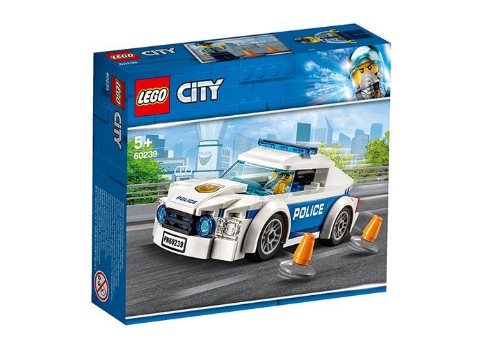 LEGO City, Masina de politie pentru patrulare, 60239, 92 piese