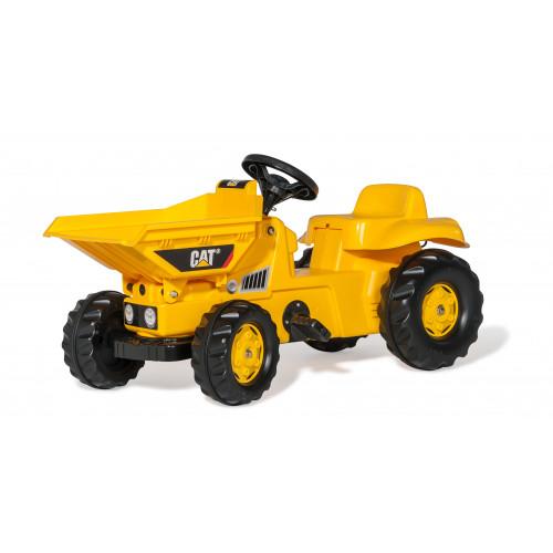 024179 - CAT Dumper cu pedale, Rolly Toys