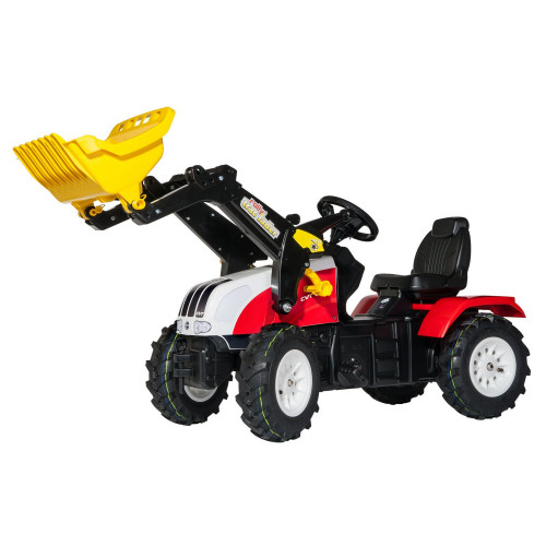 046331 - Tractor cu pedale Rolly Toys, Steyr CVT 6240 cu anvelope pneumatice