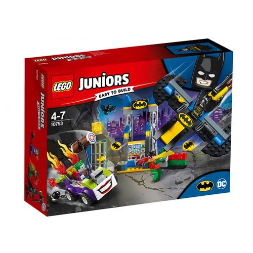 LEGO Juniors, Atacul lui Joker in Batcave, 10753