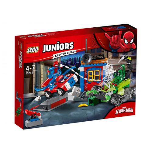 LEGO Juniors, Confruntarea dintre Omul Paianjen si Scorpion, 10754
