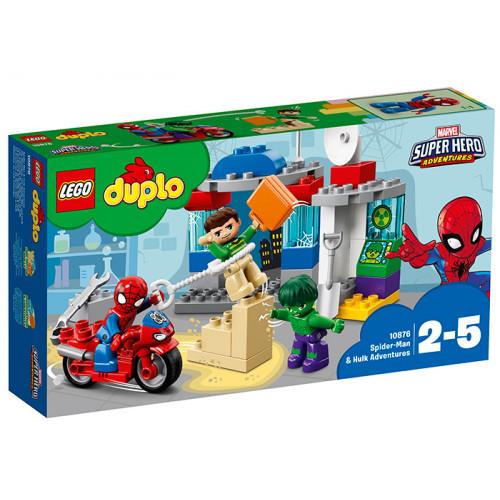 LEGO DUPLO, Aventurile lui Spider-Man & Hulk, 10876