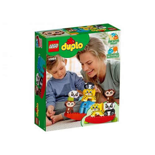 LEGO DUPLO, Primul meu balansoar cu animale 10884