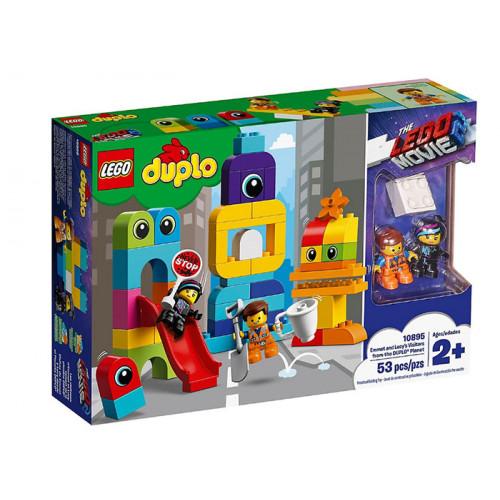 LEGO DUPLO, Vizitatorii de pe planeta DUPLO 10895