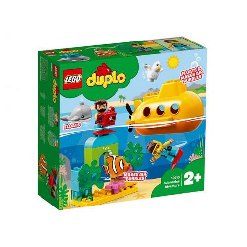 LEGO DUPLO, Aventura cu submarinul, 10910