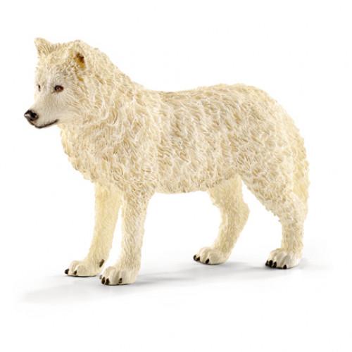 Figurina Schleich 14742, Wild life, Lup arctic
