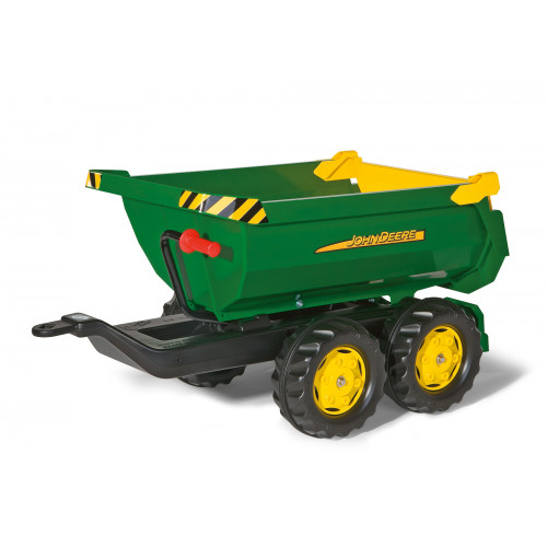 122165 - Remorca Rolly Toys, rollyHalfpipe John Deere