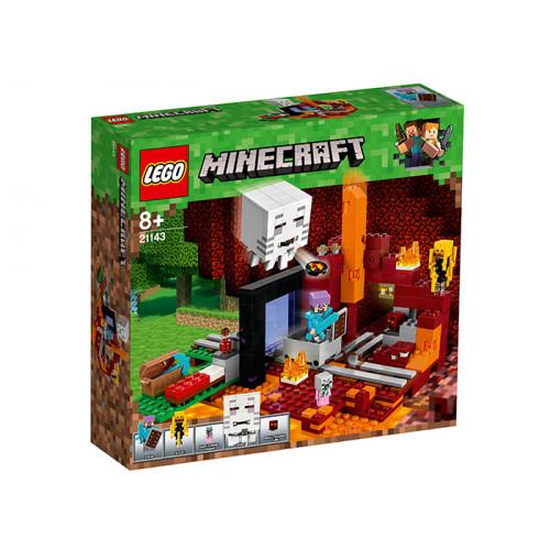 LEGO Minecraft, Portalul Nether, 21143