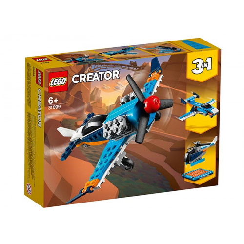 LEGO Creator, avion cu elice, 31099