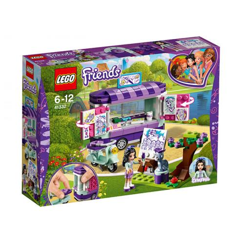 LEGO Friends, Standul de arta al Emmei, 41332