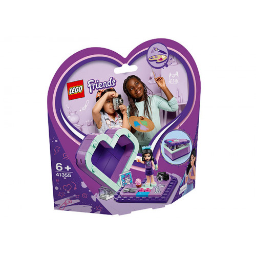 LEGO Friends, Cutia inimă a Emmei 41355
