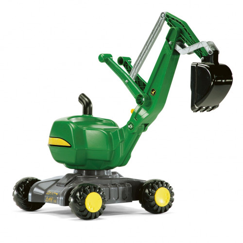 Excavator cu roti Rolly Toys 421022, John Deere