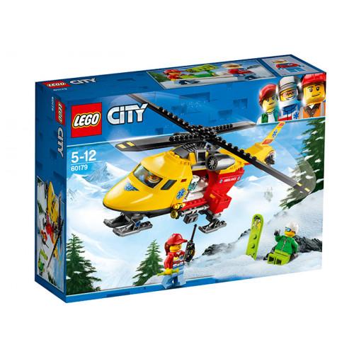 LEGO City, Elicopterul ambulanta, 60179