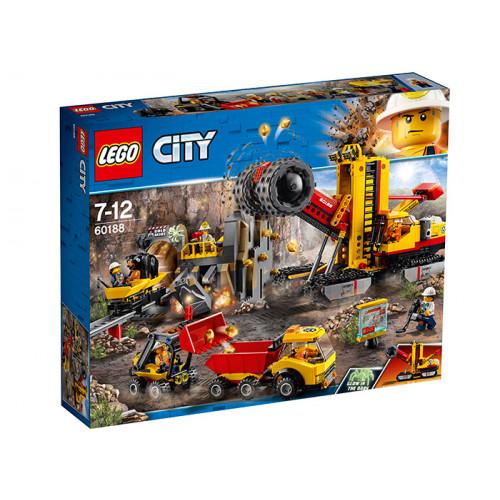 LEGO City, Mining Amplasamentul minerilor experti, 60188