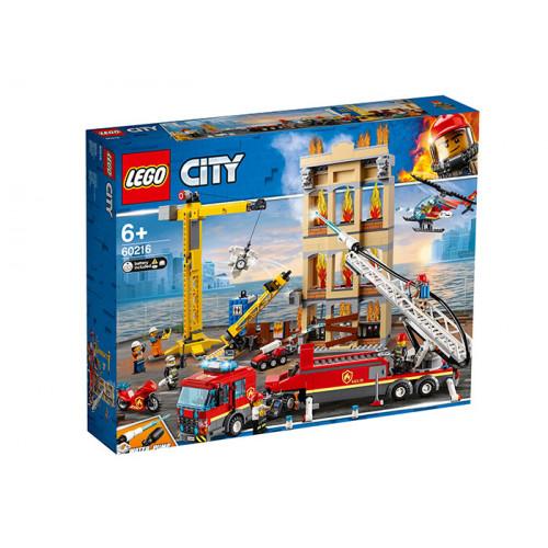 LEGO City, Divizia pompierilor din centrul orasului, 60216