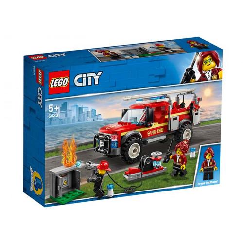 LEGO City, Camionul de interventie al pompierilor 60231