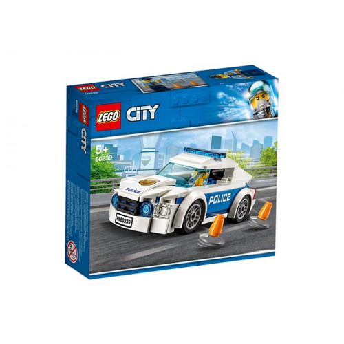 LEGO City, Masina de politie pentru patrulare, 60239