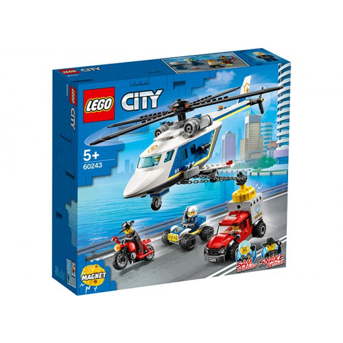 LEGO City, Urmarire cu elicopterul politiei 60243