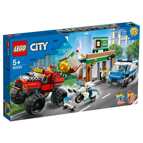 LEGO City Police, Camionul gigant de politie si atacul armat 60245