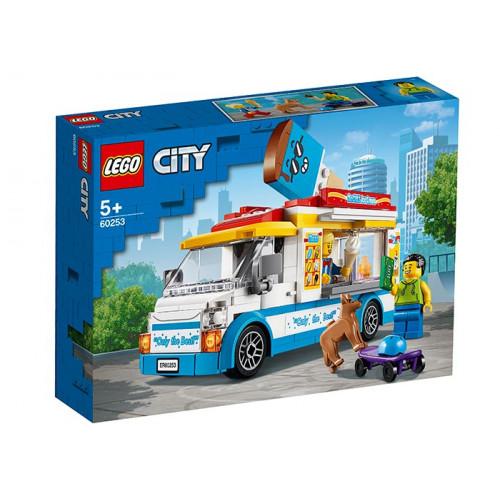 LEGO City, Furgoneta cu inghetata 60253