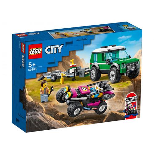 LEGO City Great Vehicles, Transportor de automobile de curse 60288