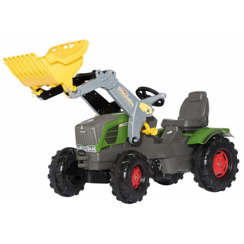 611058 - Tractor cu pedale Rolly Toys, Fendt 211 Vario cu incarcator frontal