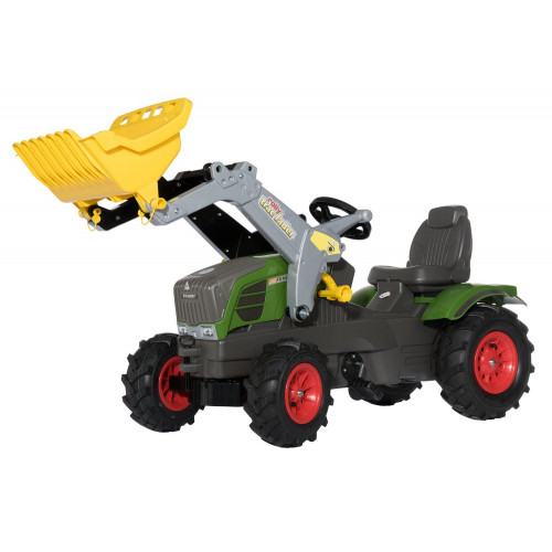 611089 - Tractor cu pedale Rolly Toys, Fendt 211 Vario cu anvelope pneumatice
