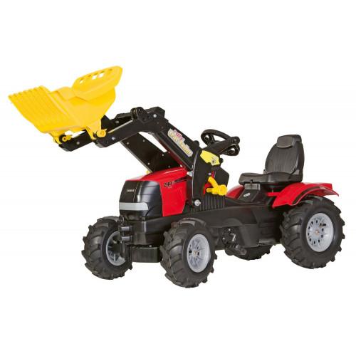 611126 - Tractor cu pedale Rolly Toys, Case Puma CVX 240 cu anvelope pneumatice