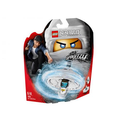 LEGO Ninjago, Zane - Maestru Spinjitzu, 70636