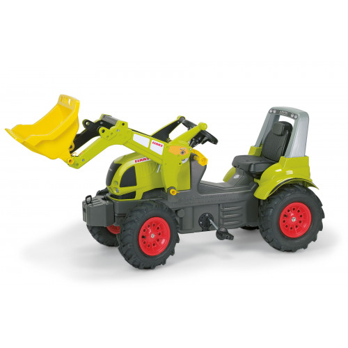 710249 - Tractor cu pedale Rolly Toys, Claas Arion 640 cu anvelope pneumatice