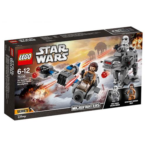 LEGO Star Wars, Ski Speeder contra Walker al Ordinului Intai Microfighters, 7519