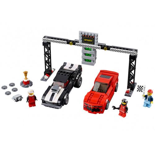 LEGO Speed Champions, Cursa de dragstere Chevrolet Camaro 75874