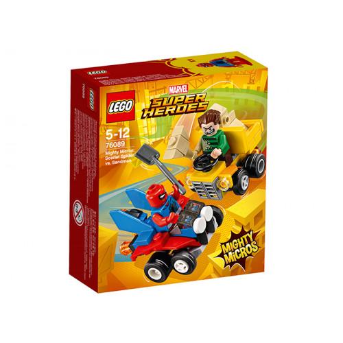 LEGO Super Heroes, Mighty Micros: Scarlet Spider contra Sandman, 76089