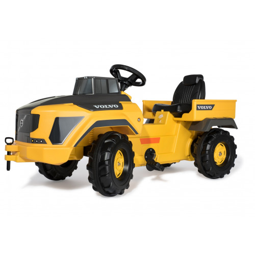 Camion cu pedale Rolly Toys 881000, Volvo Dumper