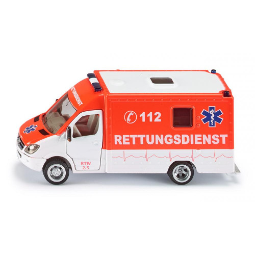 Ambulanta Mercedes Benz Sprinter, Siku 2108, scara 1:50