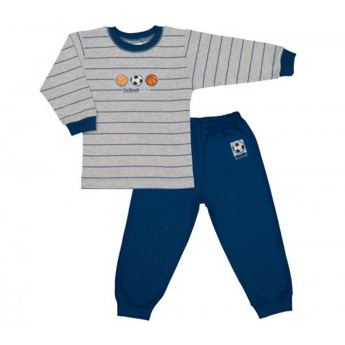 Bluzite si pantaloni de trening, albastru-gri