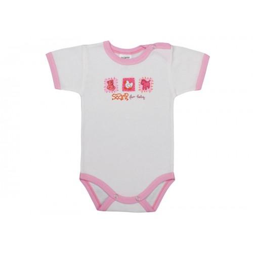 Body bebe cu capsă simplă la umăr