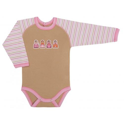 Body bebe fetite cu maneca lunga /PO6