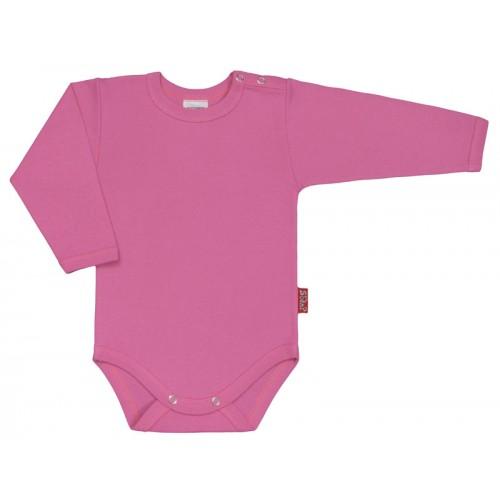 Body bebelusi cu maneca lunga roz