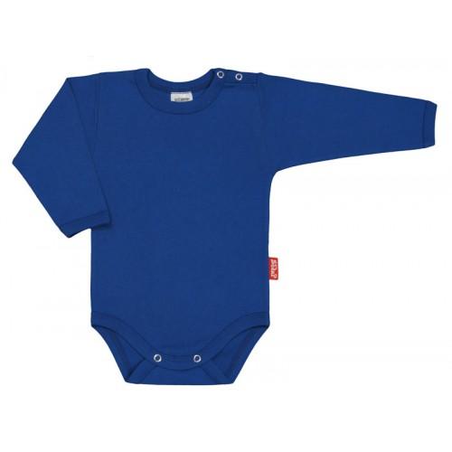 Body bebelusi cu maneca lunga, albastru inchis