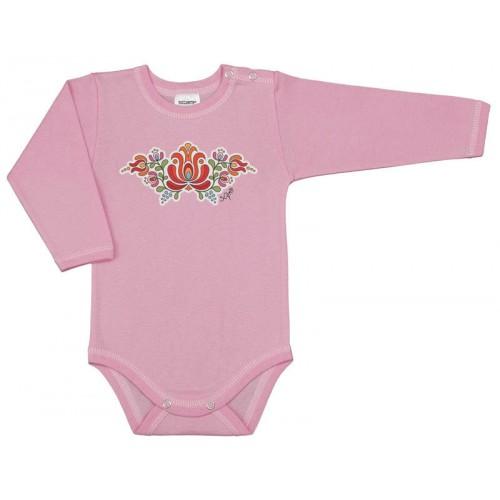 Body bebe cu capsa simpla la umar