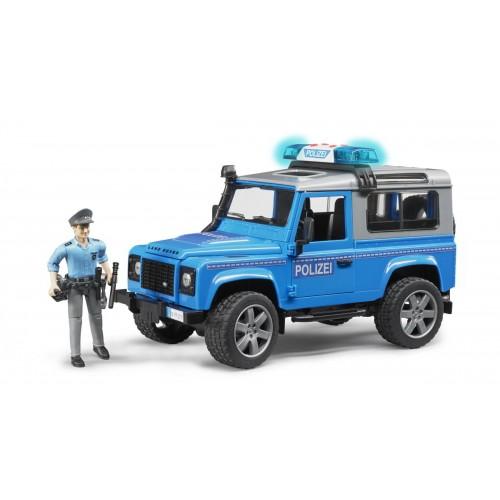Masina de Politie, Land Rover Defender, Bruder 02597