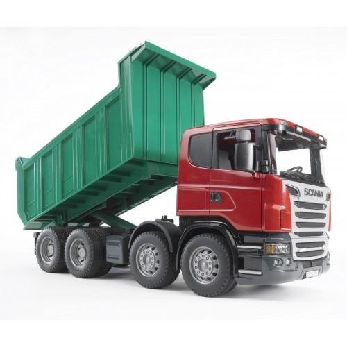 Camion Bruder 03550 Scania R cu bena basculanta