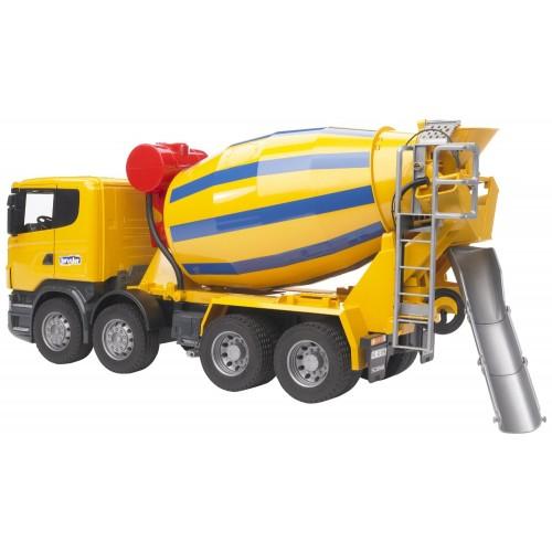 Camion betoniera Bruder, Scania R malaxor, Bruder 03554