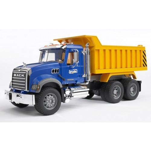 Camion Mack Granite cu bena basculanta, Bruder 02815