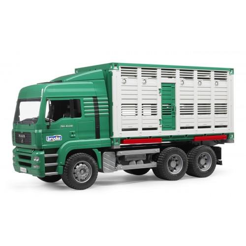 Camion MAN TGA transport bovine, Bruder 02749